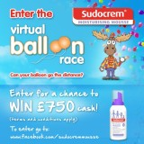 Sudocrem Mousse Virtual Balloon Race